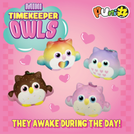 Squishy Puni Maru Timekeeper Owls - pick one