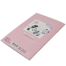 Notizbuch MochiMochi Panda Holographic