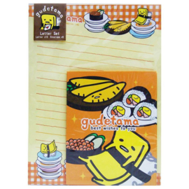 Briefpapier set Gudetama Sushi