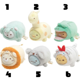 San-X Sumikko Gurashi Animal mini plushie - Pick one