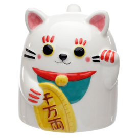 Maneki Neko Upside-down mug (ceramic)