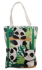 Bamboo Panda Shopper