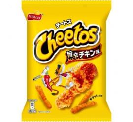 Japan Cheetos Spicy Hot Chicken