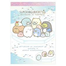 Memopad San-X Sumikkogurashi Northpole Ice (medium)