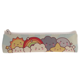 Pencil case Kawaii Rainbow