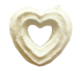 Deco Squishy Heart Donut Small - DIY squishy!