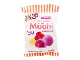 Mochi uitdeelverpakking - Custard raspberry
