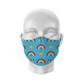 Mund- und Nasenmaske für Kinder - Rainbow