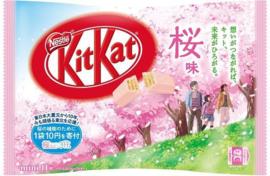 KitKat mini Sakura Cherry Blossom - zak 11 stuks