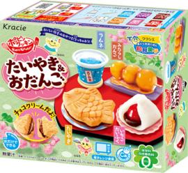 Popin Cookin Taiyaki Odango (wagashi) Japanischen Süßigkeiten