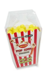 Popcorn Eraserset (+ pencil caps)