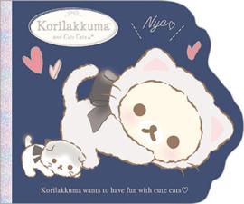 Haftnotizen groß San-X Korilakkuma cute cats blau
