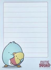 Sticky Notes Block - Penguin Icecream - CutieSquad