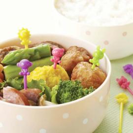 Tier Food Picks für Bento Box Lunch Box