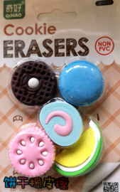 Eraser set Pastel Cookies