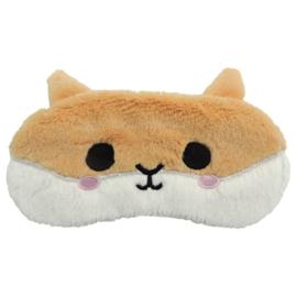 Plush Cutiemals Hamster Eye Mask