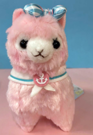 AMUSE Alpacasso Marine small Plush pink (17cm)