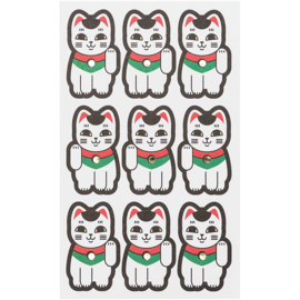 Stickers Lucky Cat Die-cut