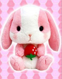 Amuse  Loppy Rabbit XL Plush - Pink  (41 cm)