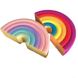 Squishy Jumbo Fuwaly Rainbow