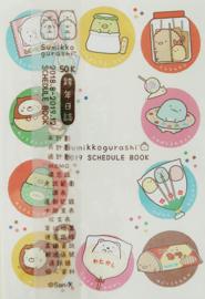 Sumikko Gurashi Agenda 2018-2019 - Circles 10X15cm