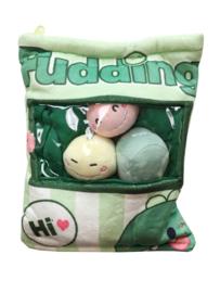 Plushie Pudding bag - dinosaur