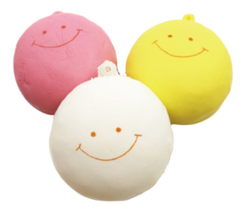 Squishy Mini Marshmallow Bun
