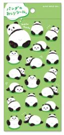 Stickervel Mofu Mofu Funky Panda