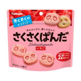 Kabaya Saku Saku Panda Strawberry