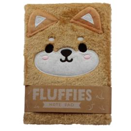 Notebook Fluffy Shiba