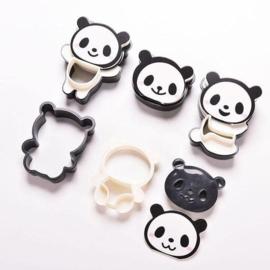 Panda Keks Austechformen und Stempel Set