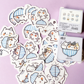 Sticker box Cats