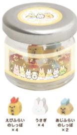 Mini Gummen in potje - Sumikko Gurashi - Fushigina Usagi No Oniwa #4 Ebi