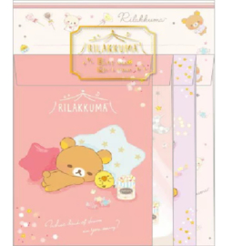 Briefpapierset Rilakkuma Dream