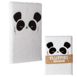 Notizbuch Fluffy Panda