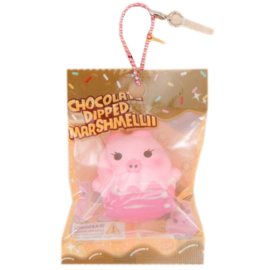 Mini Marshmellii Dipped in Chocolate Squishy
