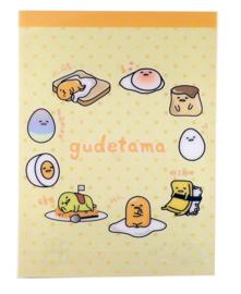 A5 Letterpad (Memo XL) Gudetama 48 sheets
