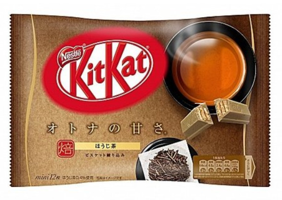 KitKat mini - Houji-Cha - zak 12 stuks