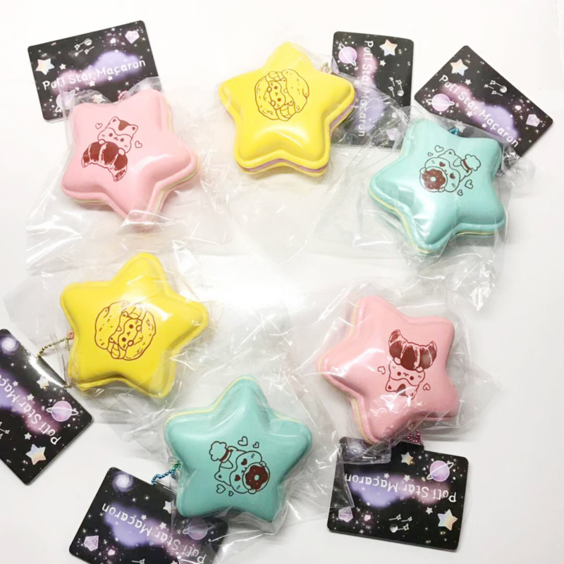 Squishy Poli Star Macaron