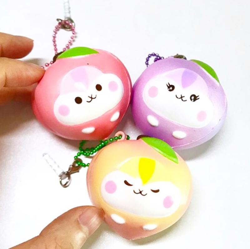Squishy Poli Mini Peach- Pick one