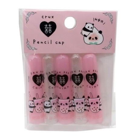 Bleistiftkappen Panda Bubble Tea