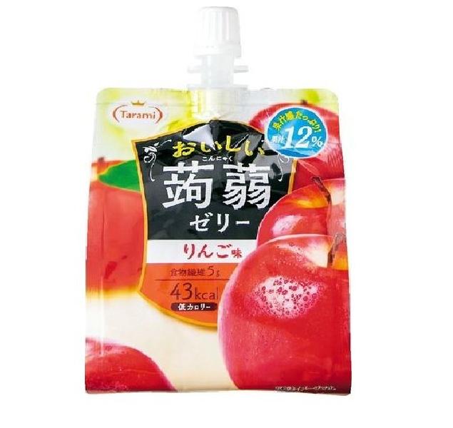Oishii Jelly Pouch - Apple