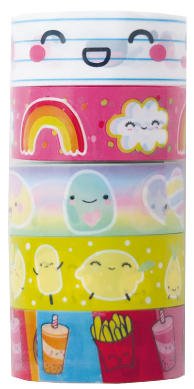 MostCutest.nl Deco Tape Set - 5 tapes