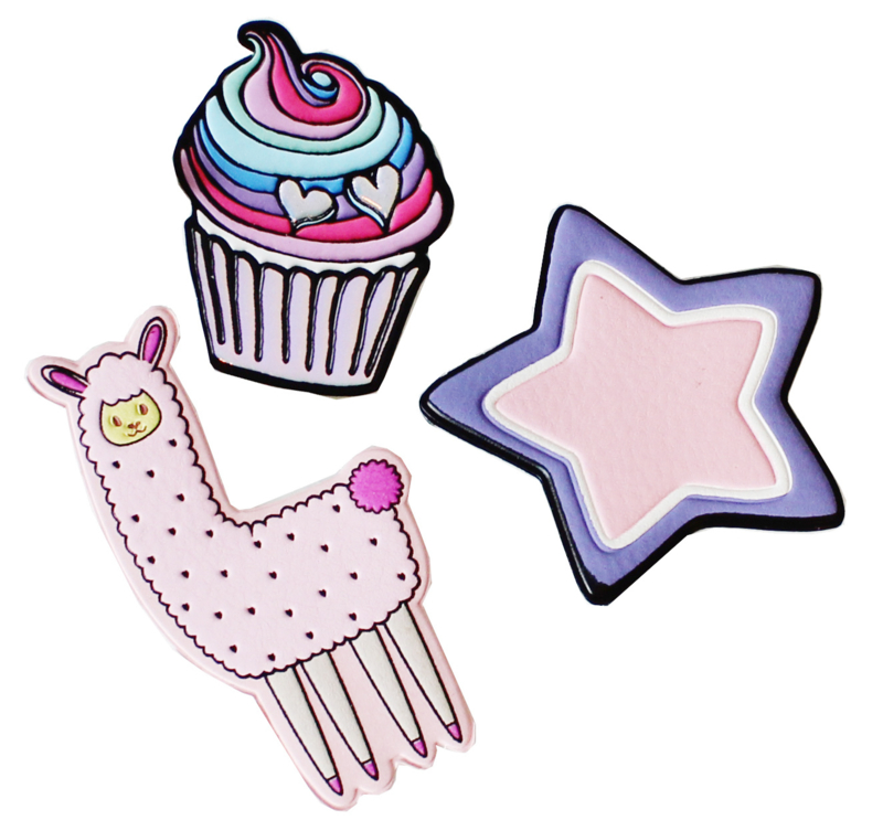 Patch Alpaca, Cupcake of Star