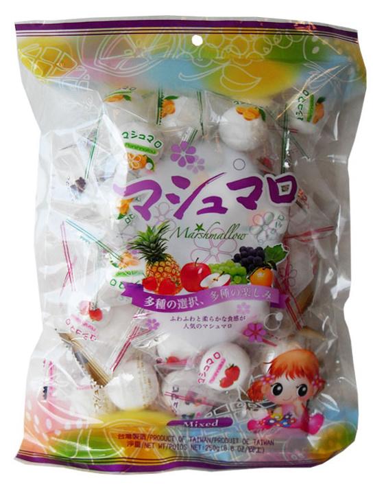 Mixed Filled Marshmallows - zak 50 mini's