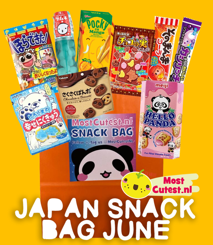 JAPAN SNACK BAG JUNE! Japanese Candy Bag by MostCutest.nl