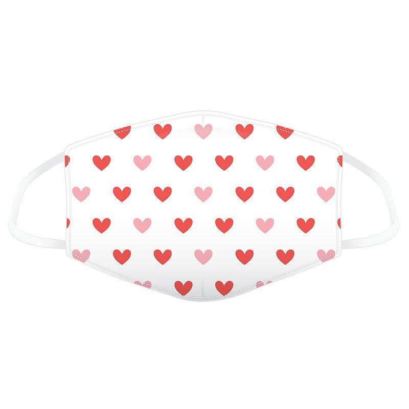 Facemask - Hearts <3