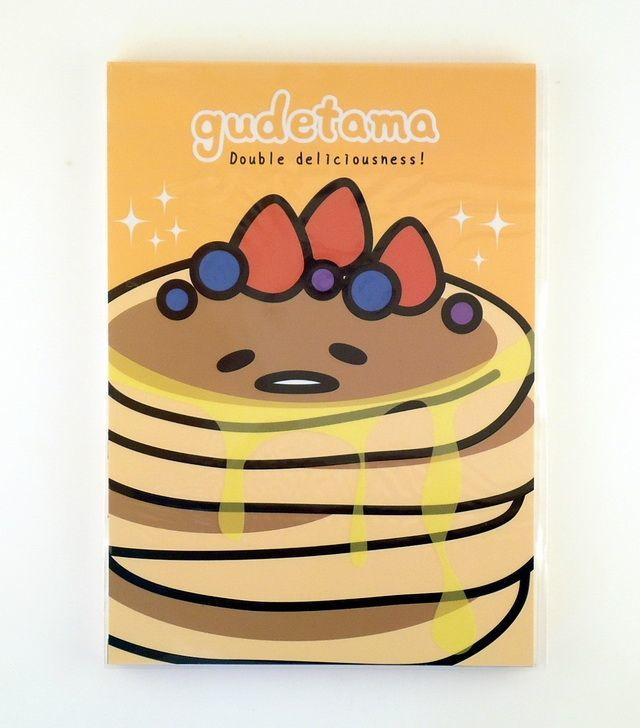Memoblok Gudetama groot Pancakes