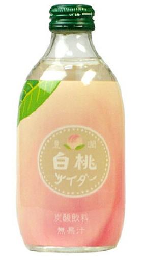 Tomomasu Juicy White Peach Cider