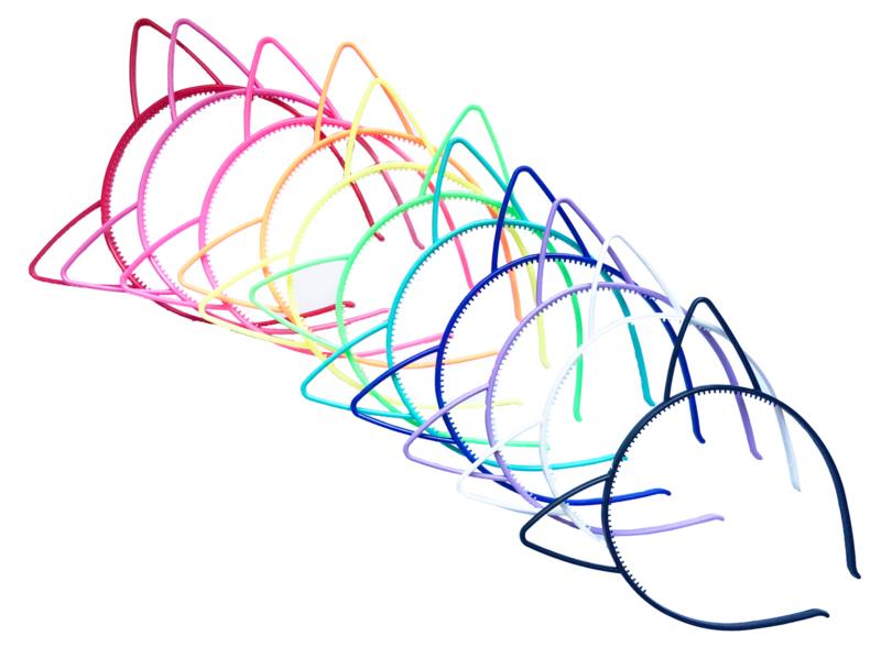 Kawaii Cat Ears haarband - kies je kleur